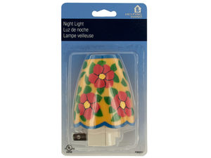 Wholesale: Floral Print Night Light