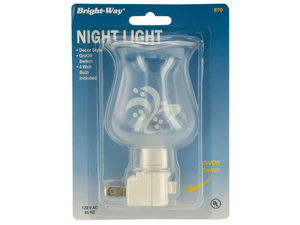 Wholesale: Printed Hurricane Night Light