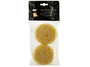 Wholesale: Spa Expressions Sea Foam Facial Sponge Set
