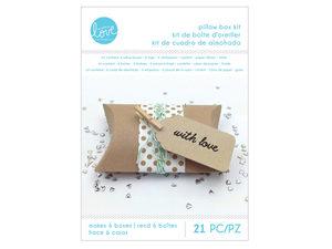 Wholesale: Polka Dot Pillow Gift Box Making Kit