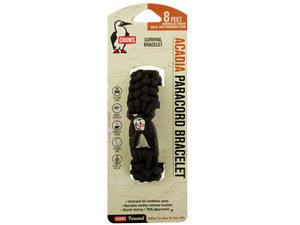 Black Chums Logo Acadia Paracord Survival Bracelet