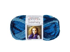 Wholesale: Jive Blue Metallic Sashay Yarn