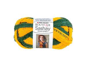 Wholesale: Green & Gold Team Spirit Sashay Yarn