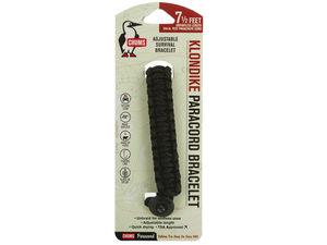 Black Chums Klondike Paracord Survival Bracelet