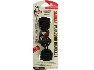 Black Chums Smokey Firestarter Paracord Survival Bracelet