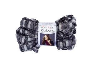 Wholesale: Metallic Grey & Black City Ribbons Yarn