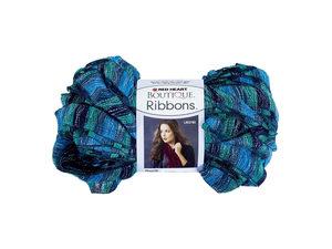 Wholesale: Metallic Blue & Teal Laguna Ribbons Yarn
