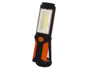 Orange & Black LED Work Light with Magnetic Base & Hook
