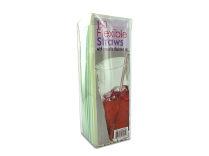 Wholesale: Flexible Straws with Dispenser Box