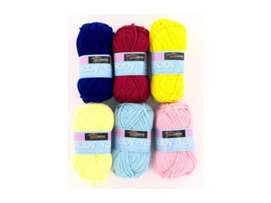 Wholesale: Acrylic Baby Yarn