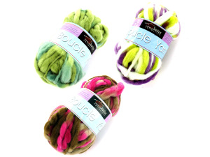 Wholesale: Boucle yarn (assorted colors)