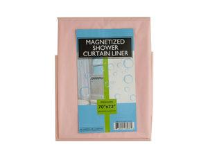 Magnetized Shower Curtain Liner