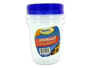 Round storage containers (set of 2)