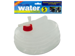 Wholesale: 5 qt. Collapsible Water Carrier