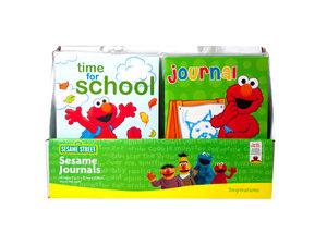 Wholesale: Sesame Street Kids Journals in Countertop Display