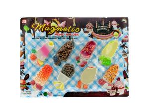 Wholesale: 8pc fruit bar memo magnet