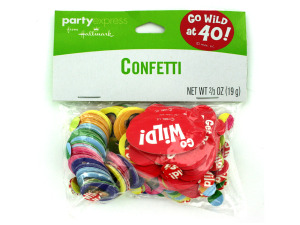 Wholesale: Monkey around 40 confetti