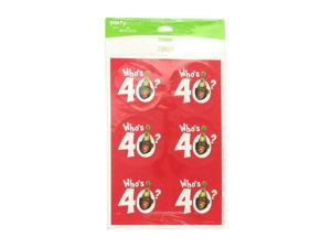 Wholesale: Who's 40? Monkey Around Stickers