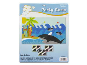 Wholesale: Luau stick the fin on the shark game