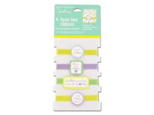Wholesale: Baby favor box ribbons