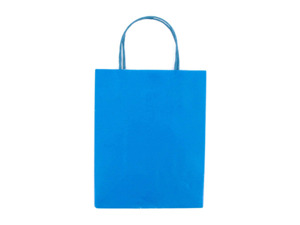 Wholesale: Medium Blue Gift Bag