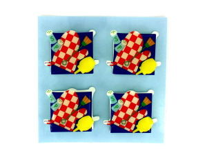 Wholesale: Grilling card accents, 3D