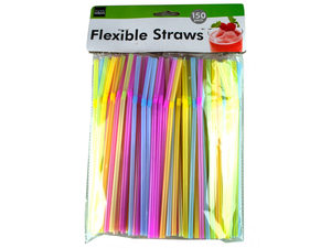 Wholesale: Flexible Neon Straws