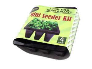 Wholesale: 4 Pack miniature seeder kit
