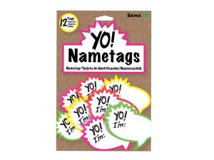 Wholesale: Yo! Nametags