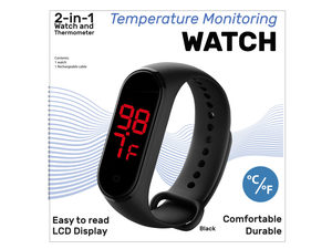 Wholesale: Wristwatch Skin Surface Thermometer