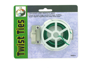 Wholesale: Twist Ties with Reel