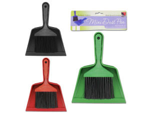 Wholesale: Mini Brush and Dust Pan Set