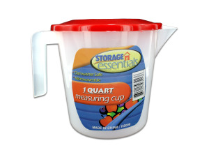 Measuring cup with lid