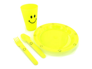 Wholesale: Happy Face Meal Set