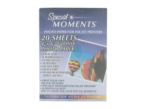 20 sheets photo paper
