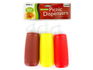 Wholesale: Picnic Condiment Dispensers