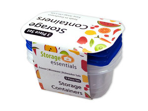 Wholesale: Rectangular Food Storage Containers with Lids