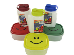 Wholesale: Smiley Face Lunch Kit