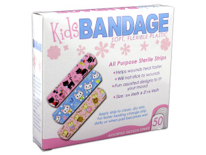 Wholesale: Bandages with Kids Designs