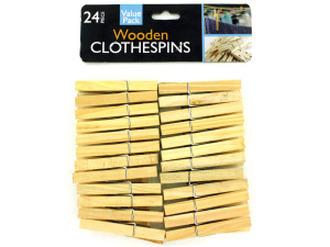 Wholesale: Wooden Clothespins Set