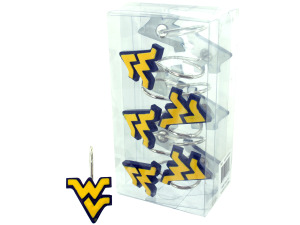 Wholesale: West virgina state shower curtain hooks