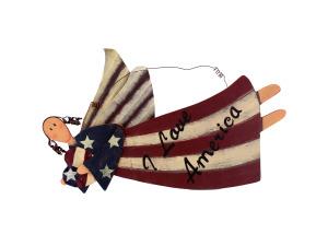 Wholesale: Patriotic angel 12576