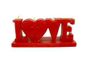 Wholesale: Love figure candle 12826