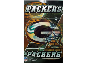 Wholesale: Greenbay 3d sign 14012