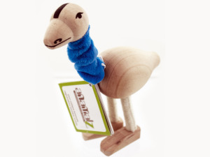 Wholesale: 5pk wooden emus 14086