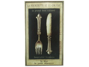 Wholesale: French wall plaque 37899