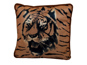 Tiger accent pillow 14289