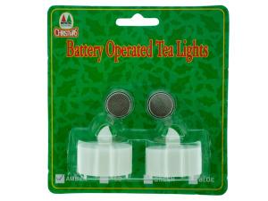 Wholesale: 2pk amber tealights