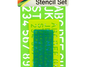 Wholesale: Numbers & Letters Stencil Set