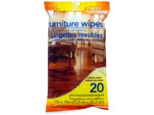 Wholesale: 20 pack kitchen/bath wipes orange scented